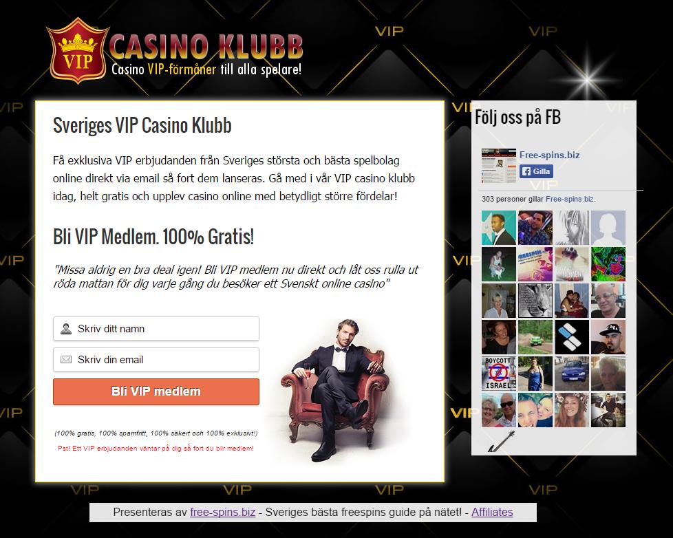 vip casino klubben